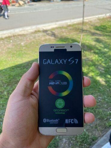 Samsung s 7 - Кыргызстан: Новый Samsung Galaxy S7 Edge 64 ГБ Черный