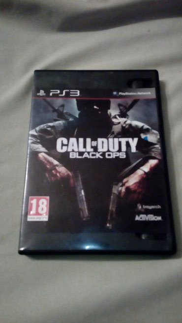 Call of Duty BLACK OPS igrica za ps3 dupli CD - Paracin