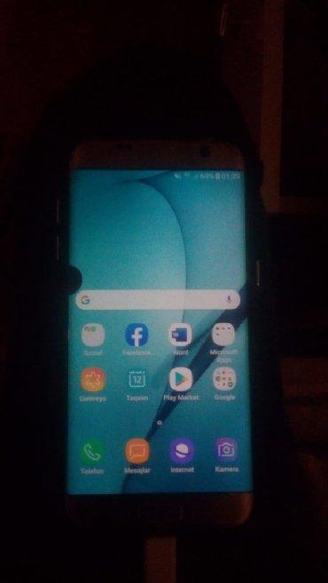 Samsung-galaxy-s7-edge - Азербайджан: Б/у Samsung Galaxy S7 Edge Duos 32 ГБ Белый