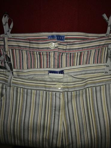 Zenske pantalone velicina 48, letnje tanke,imaju elastina, očuvane - Vrnjacka Banja