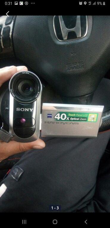 видеокамера sony z7 в Кыргызстан: Видеокамера SONY почти новый сенсорный экран обмен на любой авто