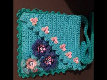 Продаю вязаные сумочки для девочек, можно под мобильный.. Ручная в Бишкек - фото 8