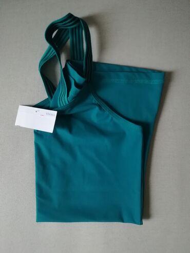 Sport i hobi   Nis: Zenska majica za plivanje, zelene boje, marka yest, velicina 38