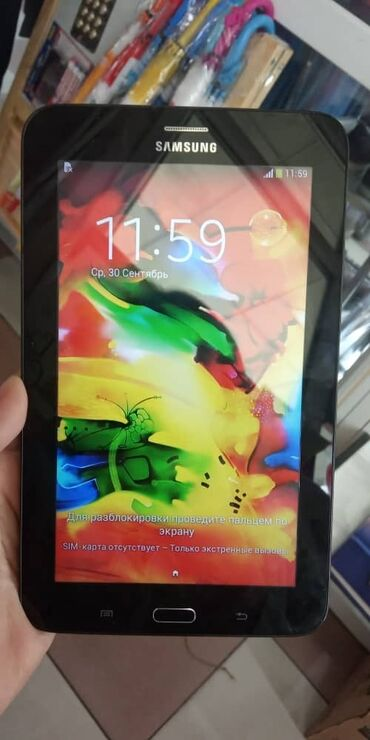 Samsung SM-T111. Сим карта тушот. Абалы жакшы