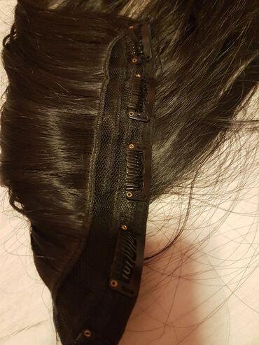Prirodna nadogradnja kosa na klipse kratko koristena