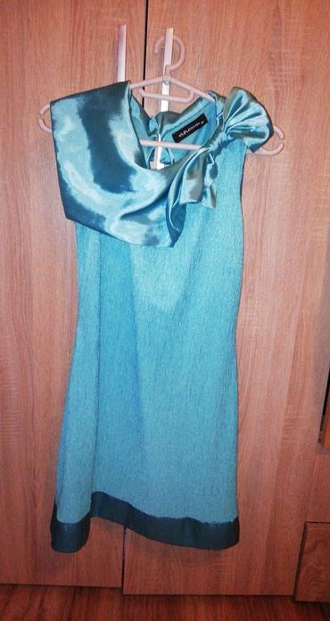 Haljina-asley - Srbija: Haljina Nova haljina. Boja izmedju plave i zelene. Sija. Haljina pada
