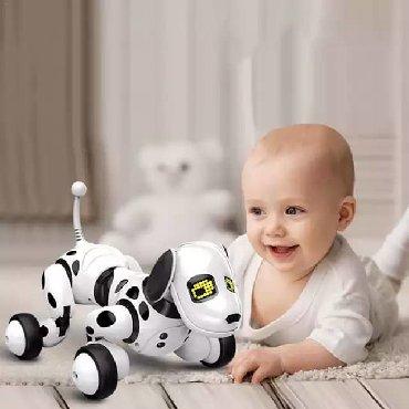 купить для собаки в Кыргызстан: Купить робот-собака, робот-собака интерактивная игрушка dimei robot