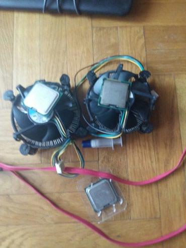 Procesori,kuleri marke intel dva sata kabla pasta i ploce sa internet - Beograd