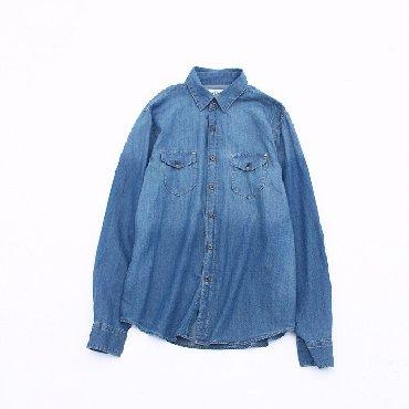 рубашка синего цвета в Кыргызстан: Рубашки и блузы Vero Moda