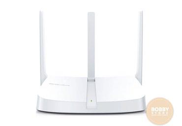 роутер тп линк 2 антенны в Кыргызстан: Wi-Fi роутер Mercusys N300 БишкекДвухдиапозонный роутер с тремя