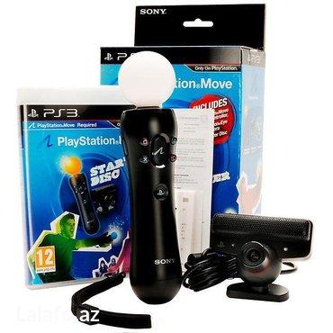Bakı şəhərində Playstation 3 original kamera və move