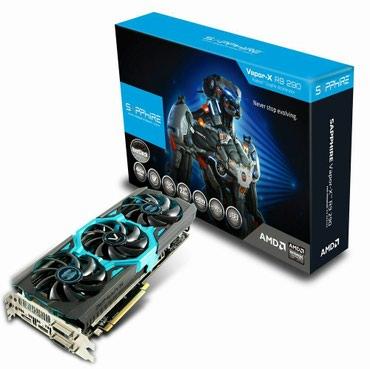 Продаю отличную видеокарту Radeon R9 290 vipor в Лебединовка