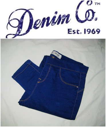 Helanke farmerke - Srbija: *** Denim Co Est. 1969 *** 38Farmerke helanke brenda Denim Co Est