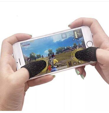 б у стиральная в Кыргызстан: Пара белых напальчников для мобильных игр Union PUBG Mobile Call Of Du