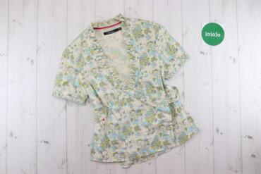Жіноча сорочка у квітковий принт Syincol, p. M    Довжина: 61 см Ширин