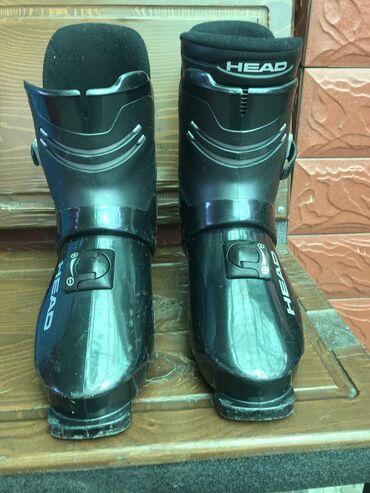 Лыжи - Бишкек: Горнолыжник ботинки HEAD 30-размер в отличном состоянии,есть комплект