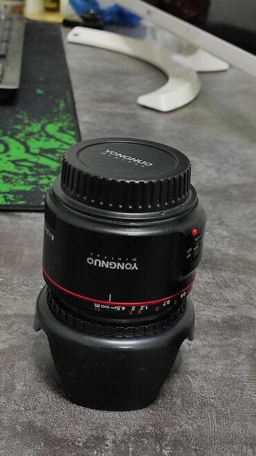 4006 объявлений: Продается объектив в идеольном состоянии. Почти новый. Yongguo 50mm