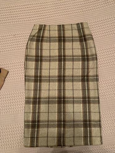 Юбка шерстяная, производство Италия, размер 36(S) покупала в бутике