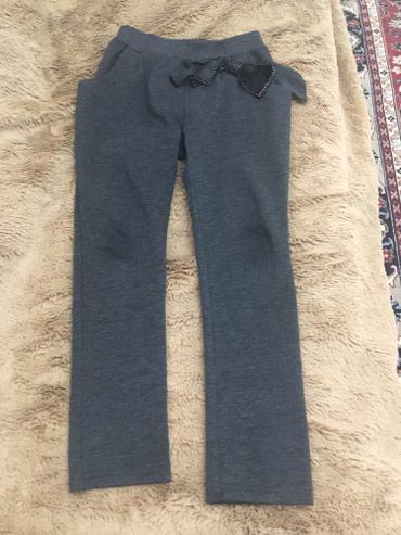 Детский мир в Баетов: Трикотажные брюки детские на 7-8 лет,б/у в хорошем состоянии