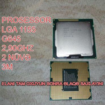 Bakı şəhərində Prosessor (CPU) G645