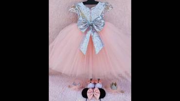 платье для мамы и дочки на годик в Кыргызстан: Продаю платье на 1 годик