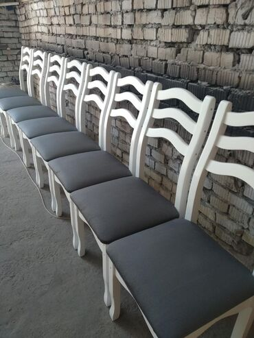 Стулья новые из натуральной сосны. Качественный стул с гарантией. Стол