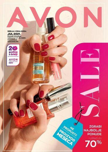 500 oglasa | ZAPOSLENJE: Potrebni saradnici za prodaju Avon kozmetike. Radite kada zelite