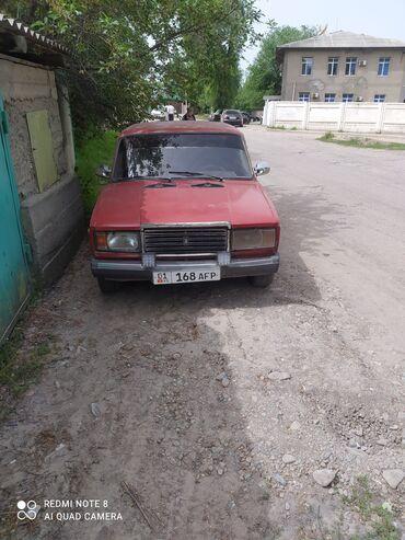 Транспорт - Ат-Башы: ВАЗ (ЛАДА) 2107 1.5 л. 1990 | 180 км