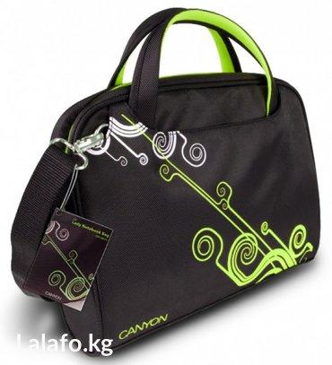"Сумка для ноутбука 12"" canyon cnr-nb22g lady notebag, nylon, в Бишкек"