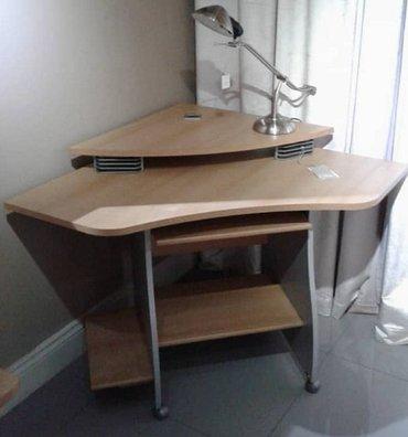 Немецкий угловой компьютерный столик в Бишкек