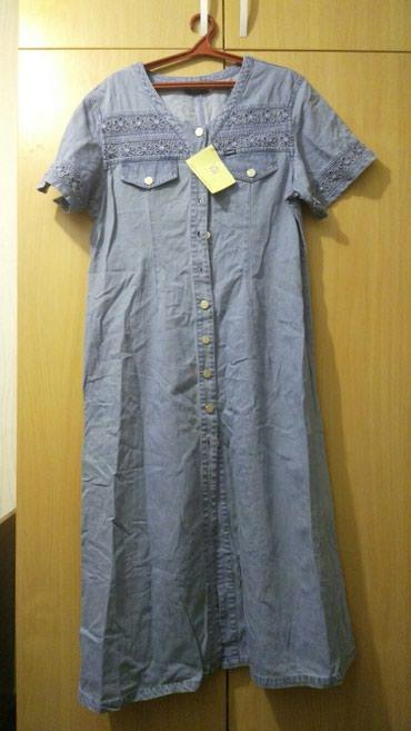 Новое платье, джинсовое,размер 50-52 в Бишкек