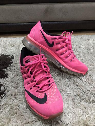 Ženska patike i atletske cipele | Kragujevac: SNIŽENJEEEEEE ORIGINAL nike air max 2016 pink, nošene dva puta, broj 4