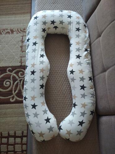 бондаж для беременных в Кыргызстан: Продам подушку для беременных, очень удобная пользовалась 1,5месяца