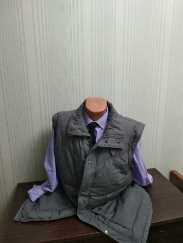 Мужская зимняя куртка! Размер 54-56 в Бишкек