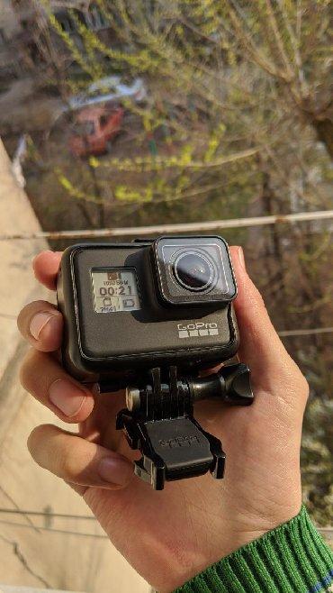 Фото и видеокамеры в Кыргызстан: Камера GoPro HERO7 Black  Крепежная рамка The Frame  Кабель USB-C  Кре