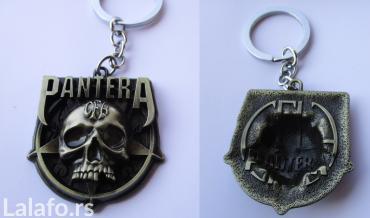 Privezak za ključeve sa motivom metal benda Pantera, nov, metalan, - Beograd