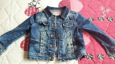 Dečije jakne i kaputi | Bor: Teksas jakna za devojčice, veličina 104 (4 godine) odlično očuvana
