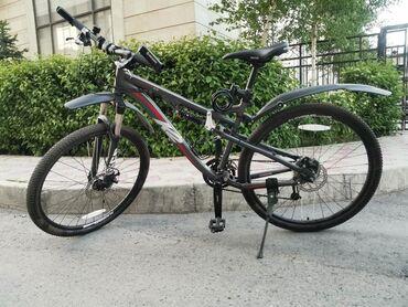 велосипед урал цена в Кыргызстан: Двух подвесный велосипед брэнда К2 (Америка), оригинал, рама М, дисков