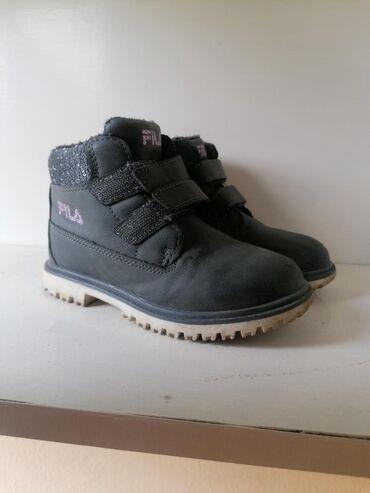 Fila zimske cipele za devojcice.Vrlo kratko nošenje, zbog blage