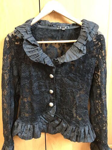 Продаю костюм: юбка и гипюровая кофточка Размер 44 Почти новое
