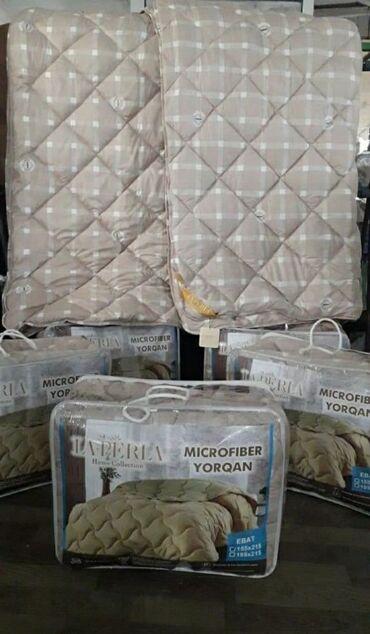 Ev və bağ - Aşağı Güzdək: Sintifon yorgan Qis ucundu cox gozel matreali var Teki 155×215 qiymeti