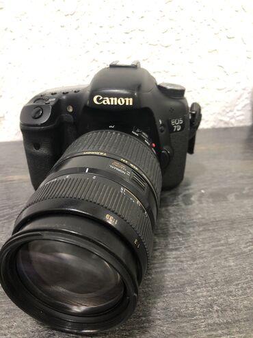 купить-canon-600d в Кыргызстан: Продаю срочно Canon 7d