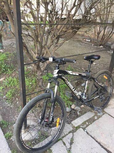Спорт и хобби - Аламедин (ГЭС-2): Продаётся велосипед PHILLIPS стояния 10из8Рама 17 колёса 26Всё
