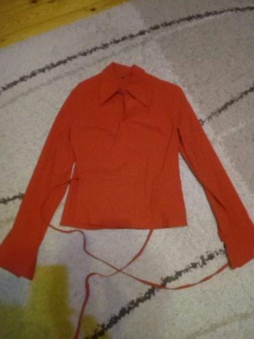 Kosulja na preklop,crvene boje,na slici izgleda narandzasto. kao nova - Pancevo