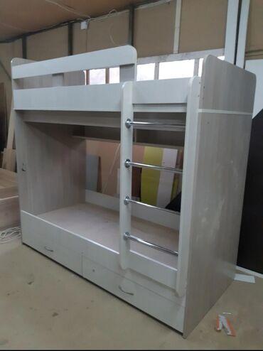 Детские кроватки в рассрочку - Кыргызстан: Кровать двухярусная продаю новую детскую двухярусную кровать с ящиками