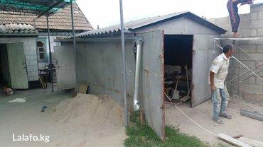 Металический гараж в Кант