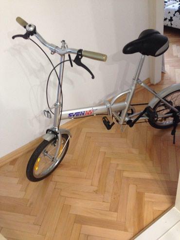 Sklopivo biciklo ,kao novo,ima torbu lako se sklapa lako za transport, - Belgrade