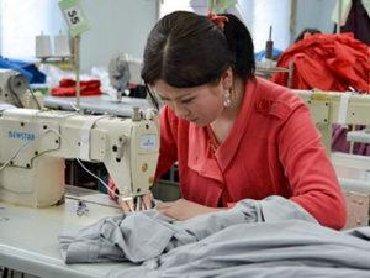 Надомница - Кыргызстан: Срочно требуются мини цеха и надомники с опытом работы, район