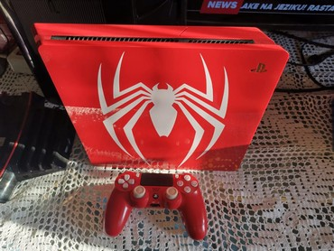 Cipele-ps - Srbija: Prodajem Sony playstation 4 ( ps4 ) limited edition Spiderman. Konzol