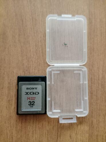 карты памяти uhs ii u3 для навигатора в Кыргызстан: Карта памяти Sony XQD 32 gb. Эти карты памяти предназначены для